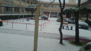 四街道市、雪景色